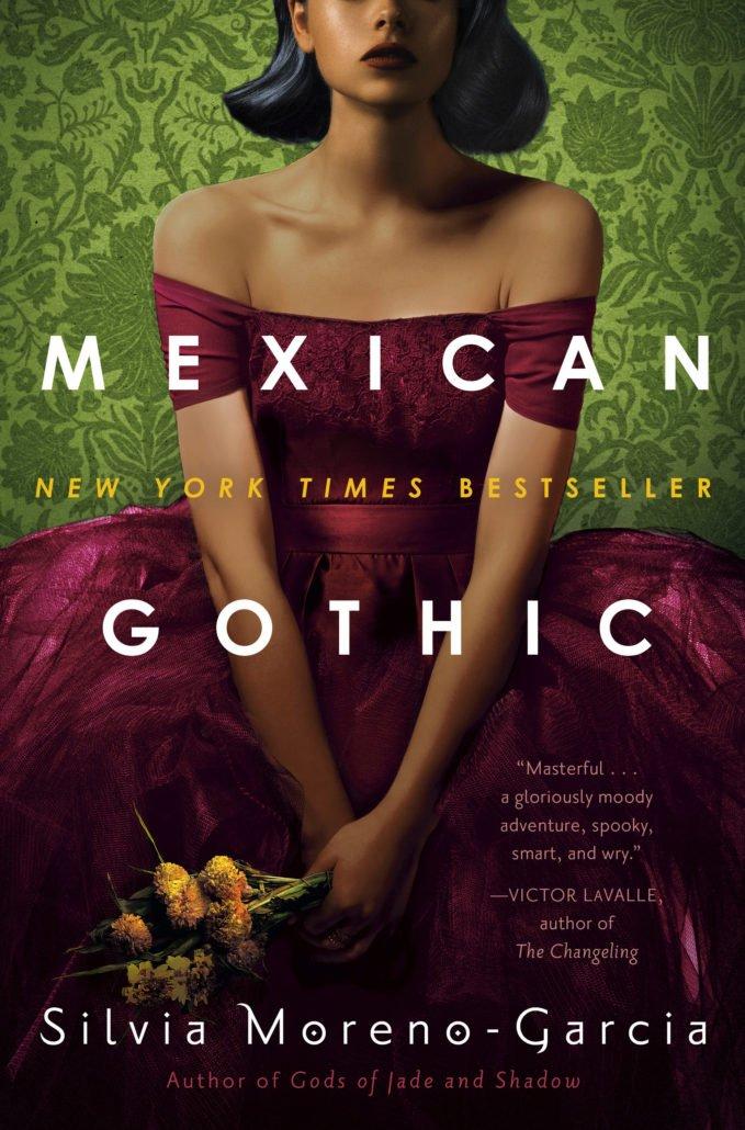 Silvia Moreno-Garcia, Mexican Gothic cover